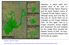 from Elephants Alive's 2014 Tracking Report for Eastern SA and southern Mozambique (click image to enlarge)